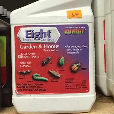 Eight Garden & Home Insect Control
